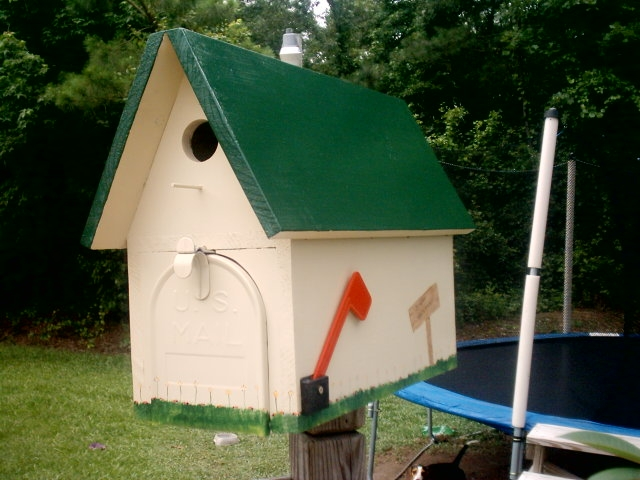 DIY ~ Mailbox Birdhouse | Our Fairfield Home & Garden